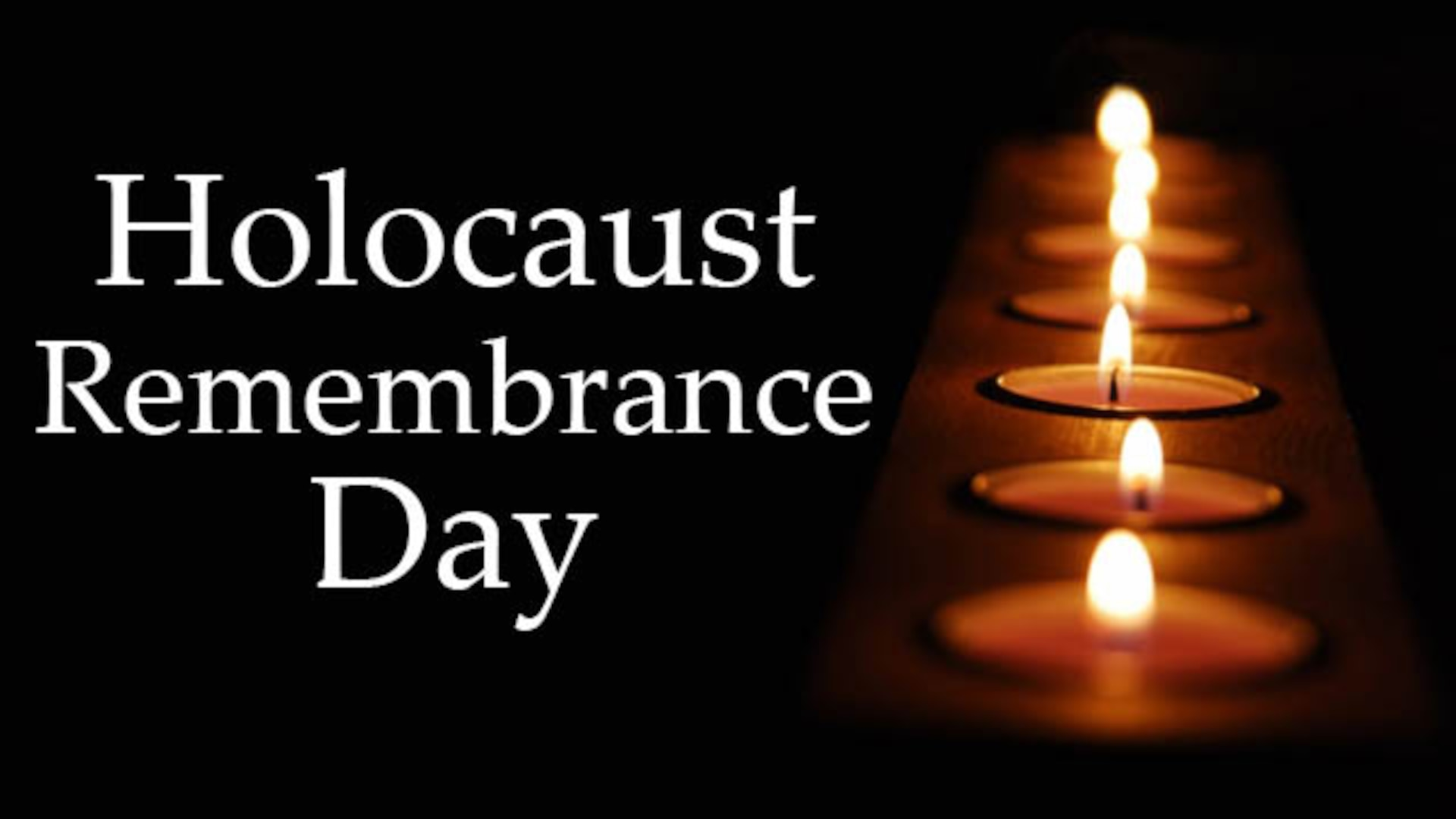 Defense Contract Management Agency's Equal Employment Opportunity Office is offering its employees multiple ways to commemorate Holocaust Remembrance Day/Days of Remembrance observance.