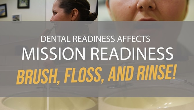 Dental readiness affects mission readiness