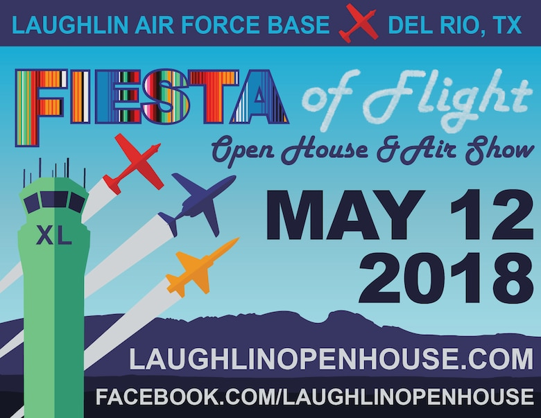 Fiesta of Flight officials announced the lineup of military aircraft coming to Laughlin for the region's premier Air Force Open House May 12. 