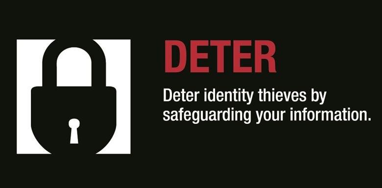 Deter identity thieves