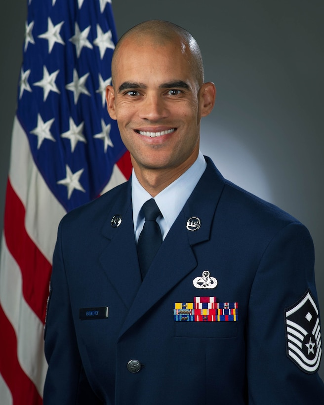 Master Sgt. Khafiz Gondry, official photo, U.S. Air Force