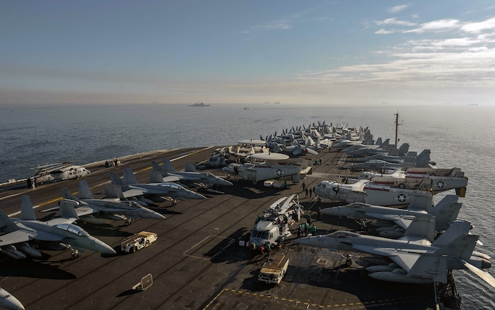 USS Theodore Roosevelt Arrives in Manila for Port Visit