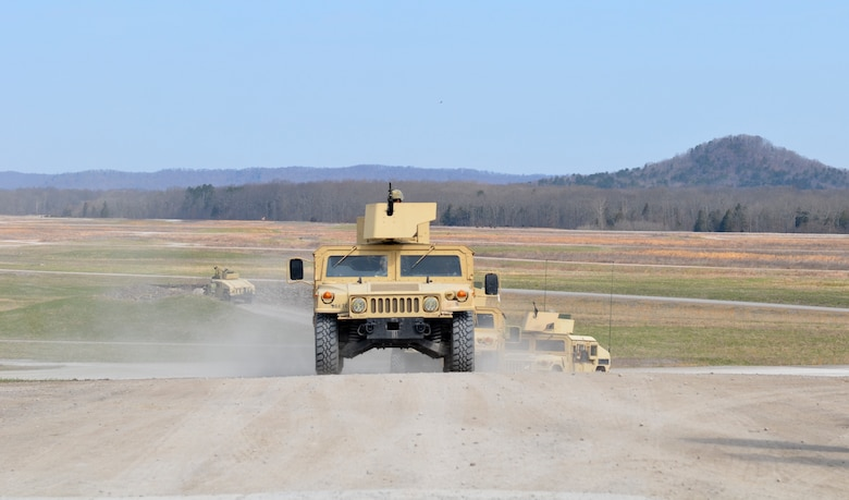 Army Reserve completes convoy escort team qualification