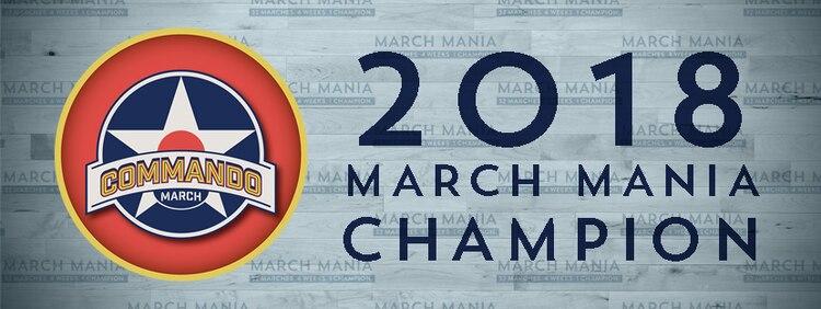 2018 March Mania Winner