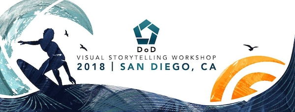 DoD Visual Storytelling Workshop, San Diego, June 16-23, 2018.
