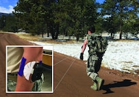 USAF Academy Cadet models novel AFRL sweat sensor technology