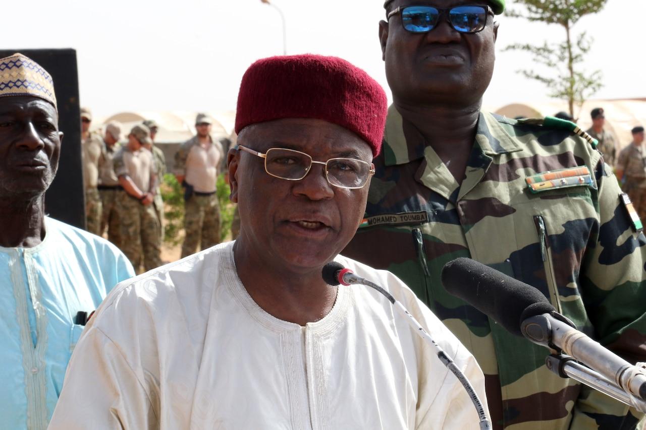 Governor of Niger's Tahoua region speaks.