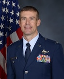 Official photo of Col. Sean M. Carpenter, 419th Operations Group commander