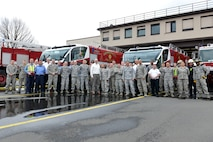 Ramstein recieves new fire trucks