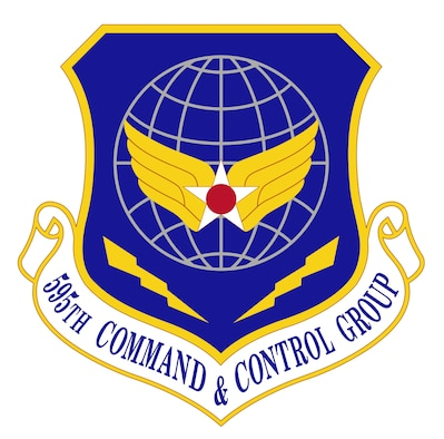 595th Command & Control Group Shield