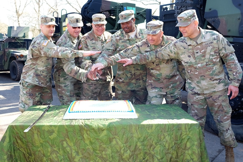 7th MSC, guests celebrate 110th Army Reserve birthday