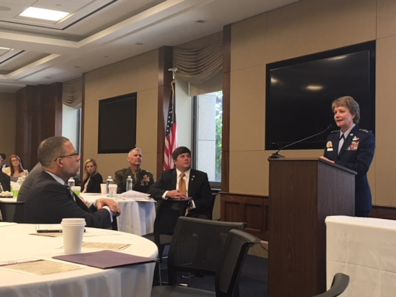 Miller Highlights AF Reserve Issues at Caucus Breakfast