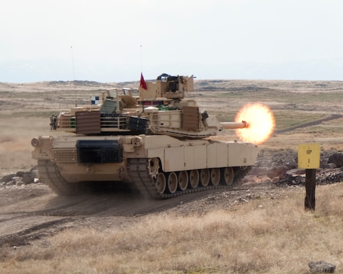 Idaho unit practices with tanks again