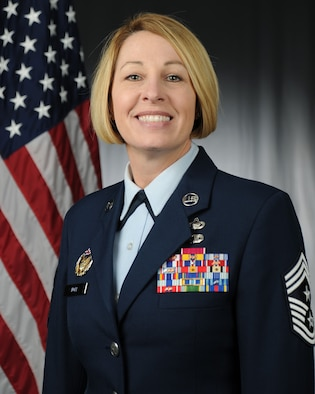 Chief Master Sgt. Melanie K. Noel official photo