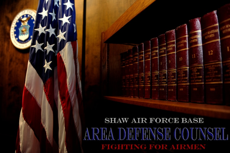 Area Defense Counsel (ADC) offices are geographically separated units that fall under the Air Force Legal Operations Agency.