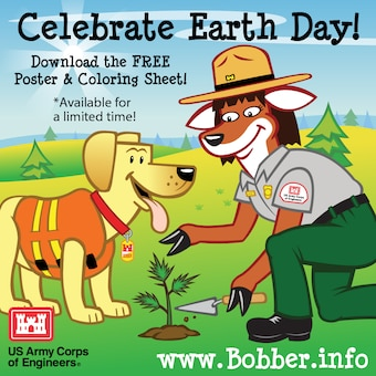 Download a free Bobber Earth Day poster & coloring sheet at www.bobber.info, but hurry, it's only available for a limited time!