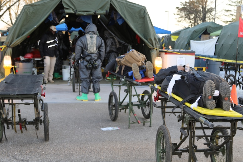 Army Reserve, National Guard team up for CBRN exercise