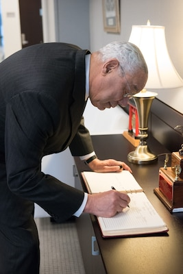Colin Powell Addresses National Defense University
