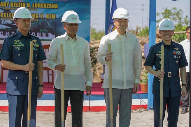 Enhanced Defense Cooperation Agreement Groundbreaking Ceremony