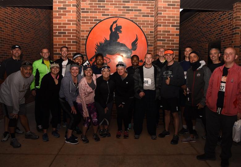 436th TS holds Mustang Half Marathon