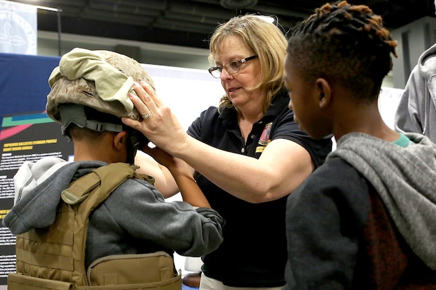 Marine Corps engineers spark interest in STEM during annual festival
