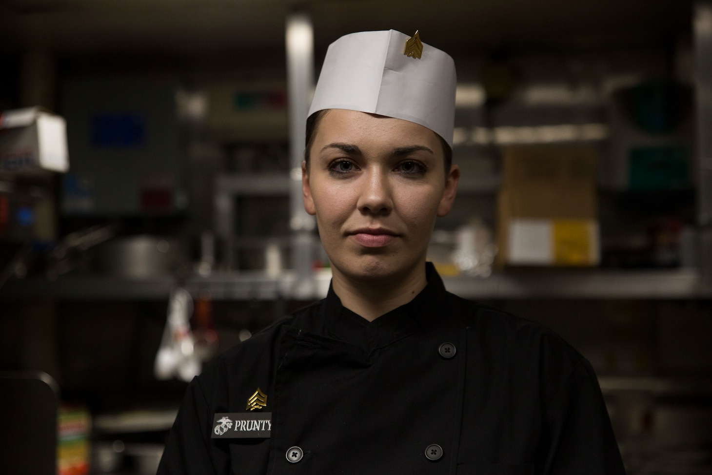 Sgt. Jordan Prunty, from Tacoma, Washington, is a food service specialist with the 31st Marine Expeditionary Unit. Growing up, Prunty found a passion for baking.