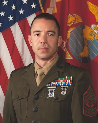 Inspector-Instructor First Sergeant, Golf Company, 2nd Battalion, 24th Marine Regiment