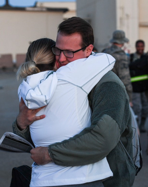 Team Minot Airmen return home