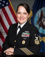 Command Master Chief Shelly D. Zakimi, USN