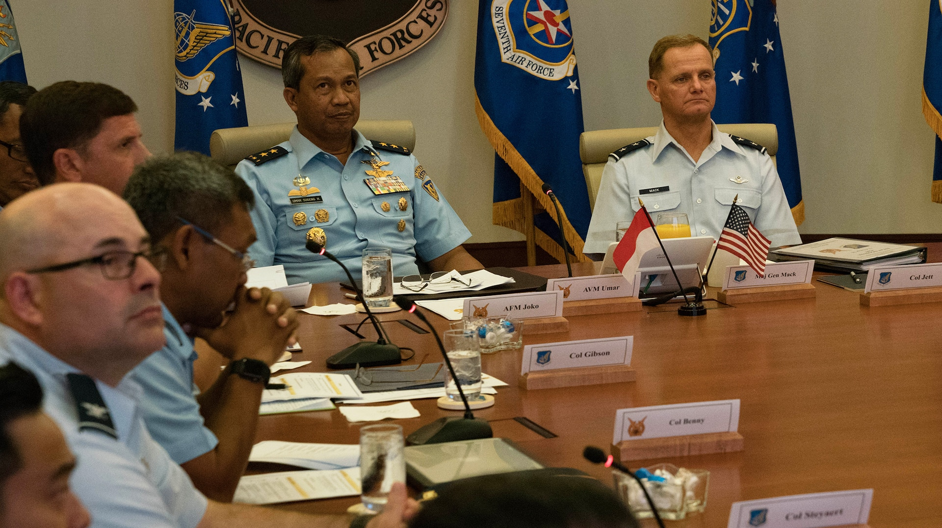 U.S., Indonesia Airmen Talks Enhance Interoperability