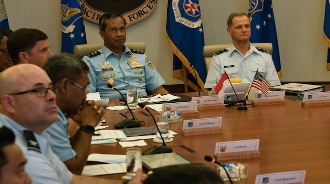 U.S., Indonesia Airmen Talks Enhance Interoperability