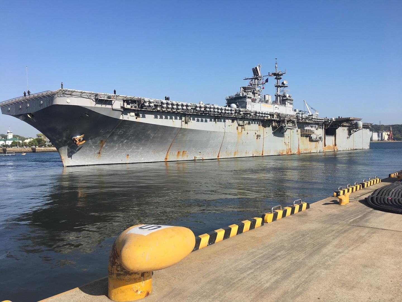 Bonhomme Richard departs Sasebo, concludes forward-deployed service