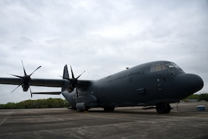 A c-130J from Australia.