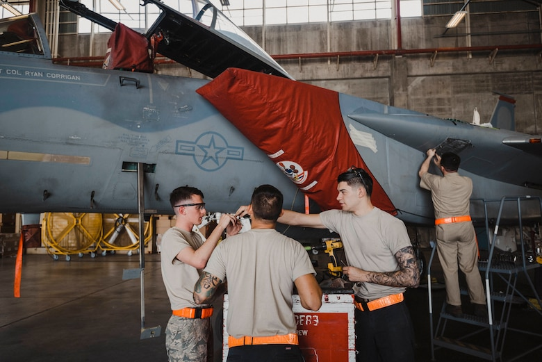 Metal Work: 18th EMS Patches Up Eagles