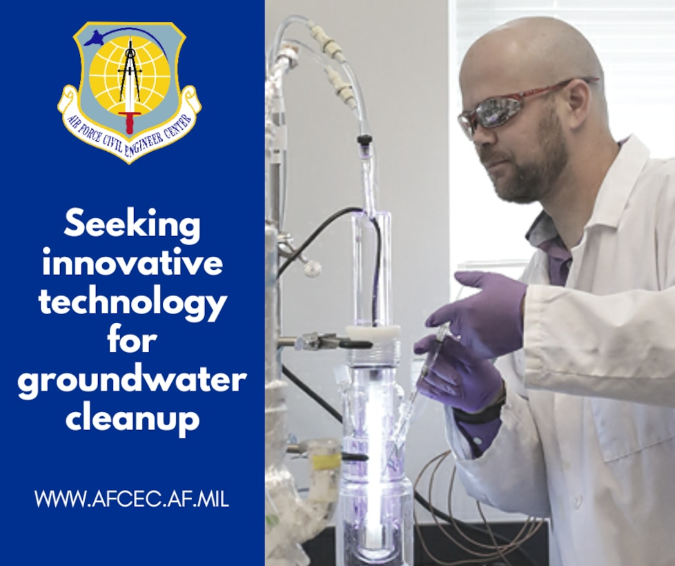 The Air Force is working closely with leading academic researchers to solve a global challenge: cleaning groundwater contaminated with Perfluorooctane Sulfonate and Perfluorooctanoic Acid, known as PFOS and PFOA.