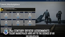 21st century officer assignments; Talent Marketplace adds art to the science of HR