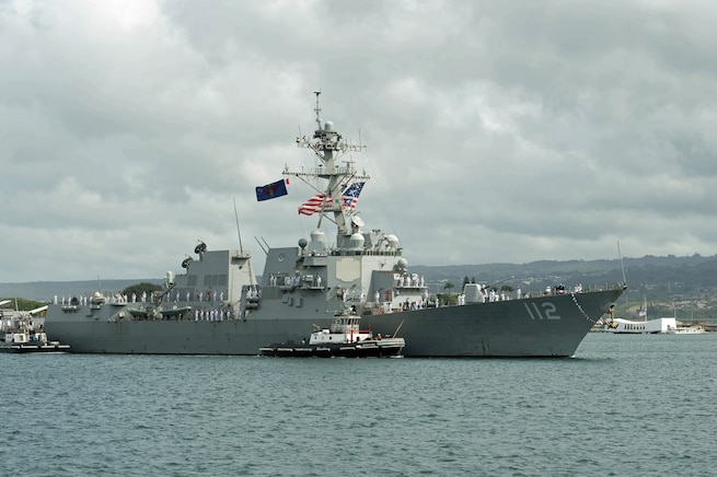 USS Michael Murphy returns home from deployment