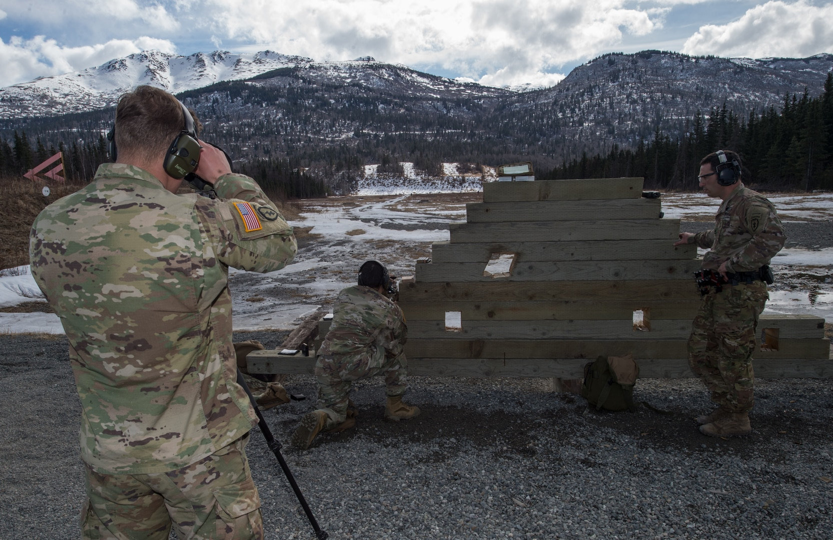Lethality: U.S. Army Alaska snipers conduct stress shooting drills