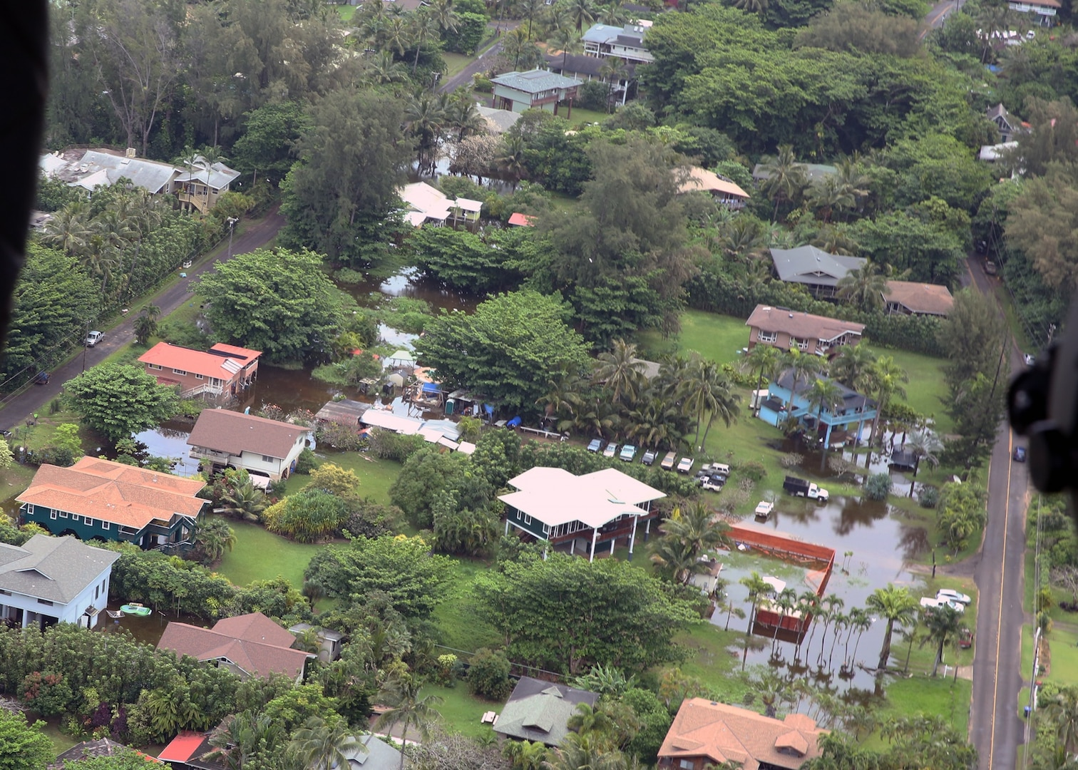 Navy's Pacific Missile Range Facility Assists with Kauai Relief