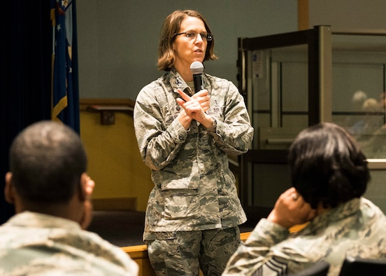 88th Med Group commander holds town hall