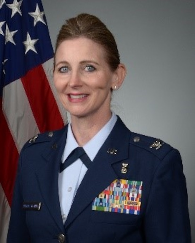 Col. Lisa Banyasz-de Silva is a reserve division chief with Air Force Reserve Command (AFRC) at Robins Air Force Base, Ga., advising the ARFC Command Surgeon on readiness and contingency planning of medical units. In her civilian capacity, Banaysz-de Silva also works as a nurse, focusing on promotion and restoration of health, prevention of illness, and helping patients with work-related injuries. (Courtesy photo)