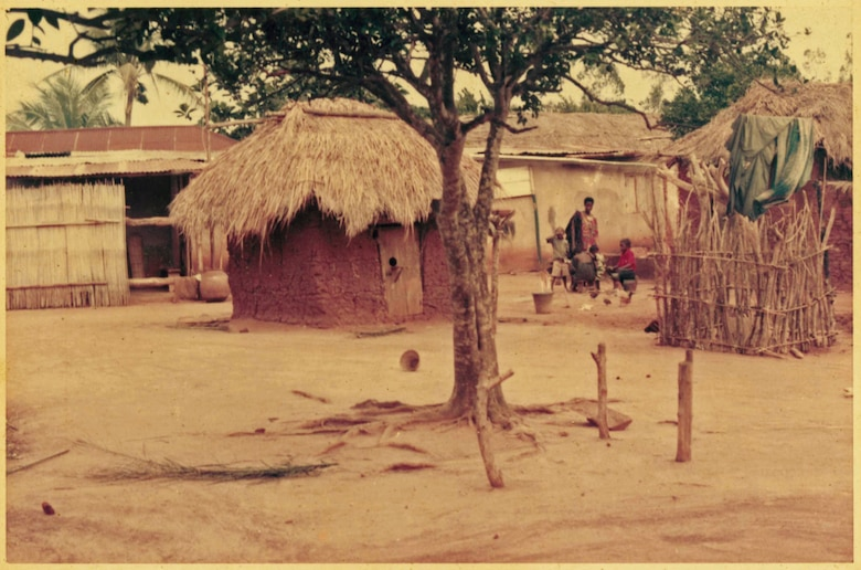 Togo is a country in West Africa that relies heavily on its commercial agriculture. This photo displays a village in Togo, West Africa where Airman 1st Class Kofi Combey Douhadji, 92nd Logistics Readiness Squadron vehicle operator, once lived. (Courtesy Photo)