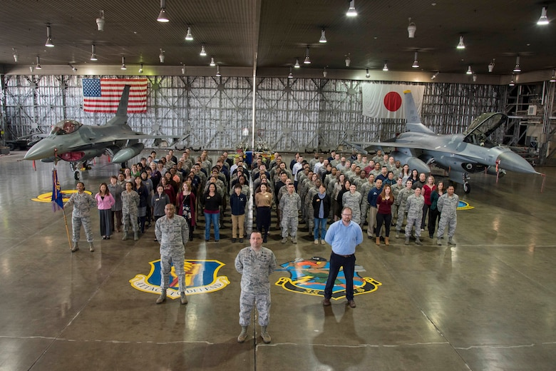 U.S. Pacific Air Forces awarded the 2017 Major General Eugene L. Eubank best small installation force support squadron award to the 35th FSS.