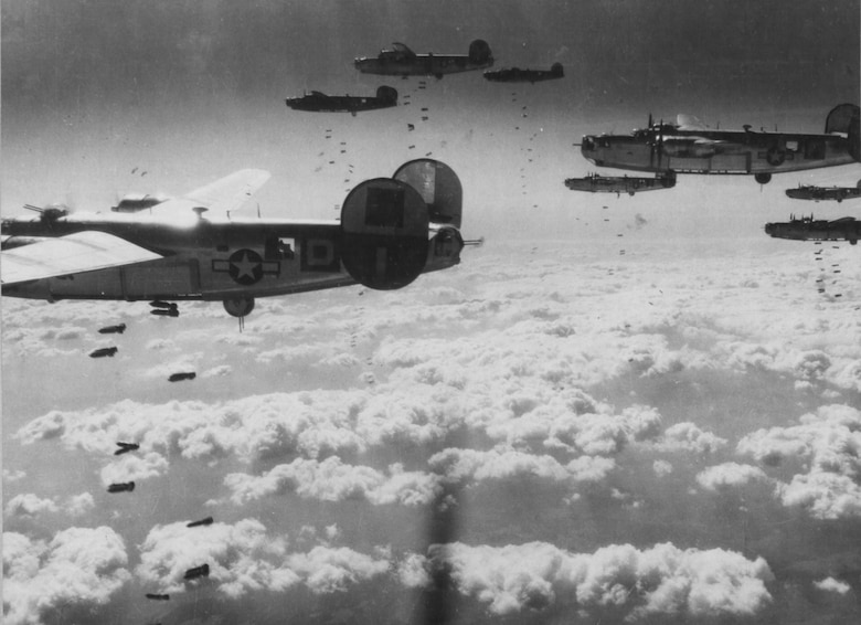 Strategic bombing campaign in Europe during World War II.
