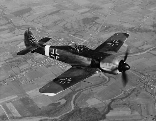 Fast and heavily armed, the Luftwaffe's Focke-Wulf Fw 190 was a formidable opponent for the bomber crews.