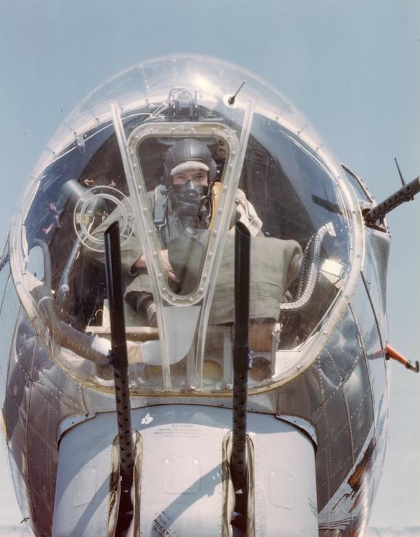 B-17 nose gunner