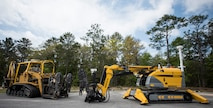 The 96th Civil Engineer Group's explosive ordnance disposal robotics section gets a new one of a kind robot. The $1.3 million acquisition is the only one of its kind and will be used to support Eglin's Test and Training Complex missions.