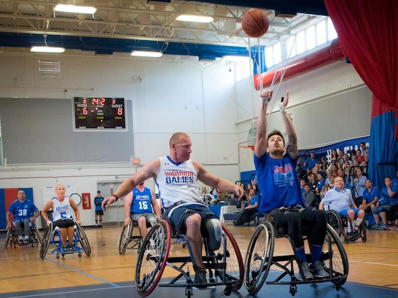Warrior Care/Games wheelchair basketball games