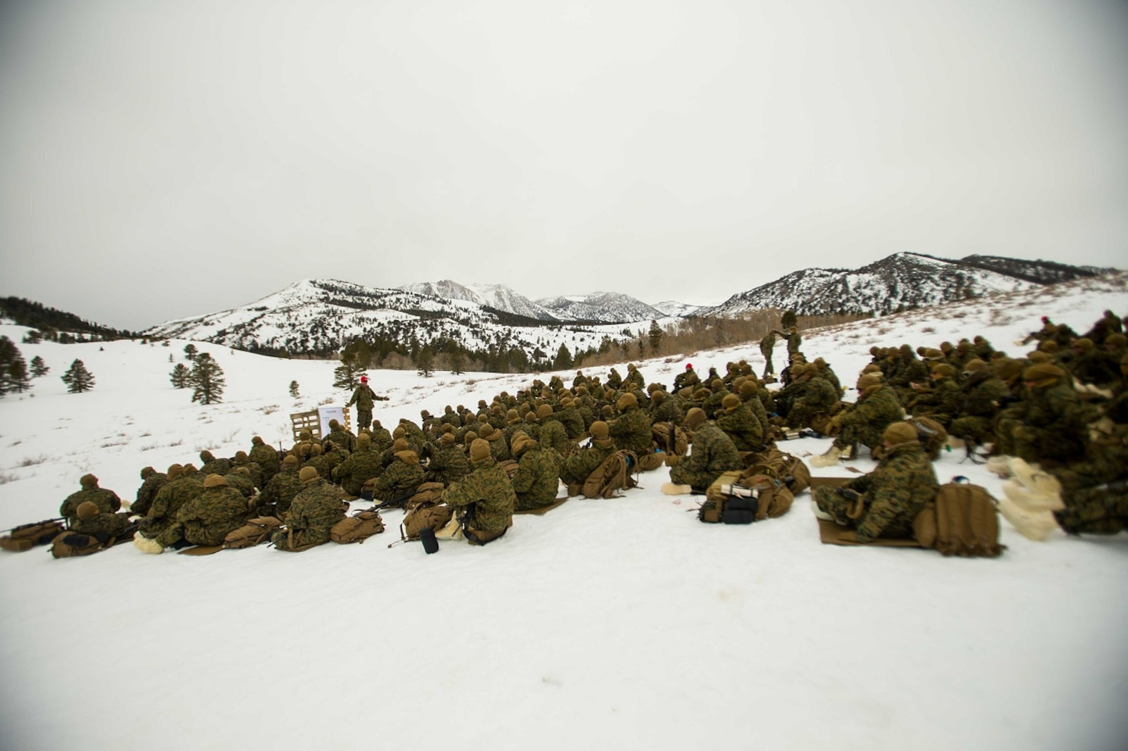 Classes in the mountains
