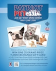 Cute pets from Edwards AFB can cash in Exchange online photo contest
